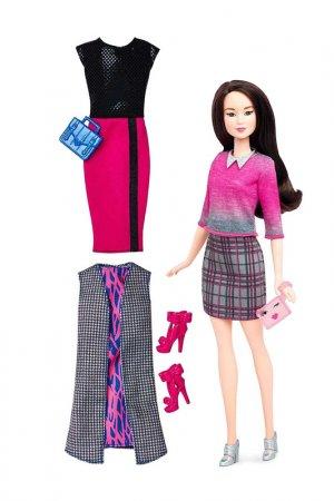 Барби Мателл Шикарный стиль Barbie. Цвет: бордовый