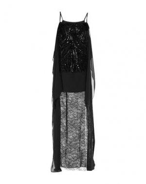 Длинное платье LANVIN. Цвет: черный