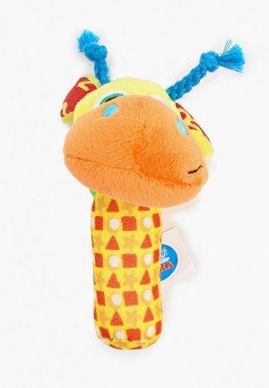 Погремушка Умка «Смешной жирафик», 11 см. Цвет: разноцветный