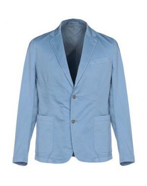 Пиджак BRIAN HAMILTON. Цвет: небесно-голубой