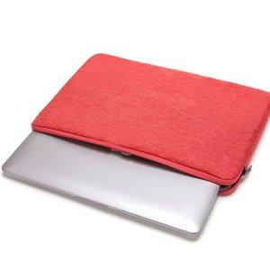 14 дюймов Сумка для ноутбука SHEIN. Цвет: красный