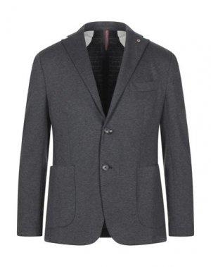 Пиджак JERRY KEY. Цвет: серый