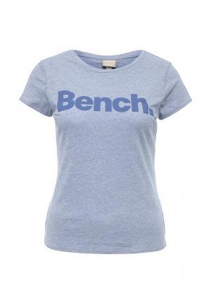 Футболка Bench. Цвет: синий