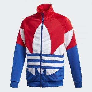 Олимпийка Trefoil Originals adidas. Цвет: белый