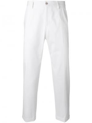 Классические брюки чинос Dolce & Gabbana. Цвет: белый