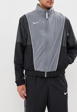 Костюм спортивный Nike Throwback Mens Basketball Tracksuit. Цвет: черный