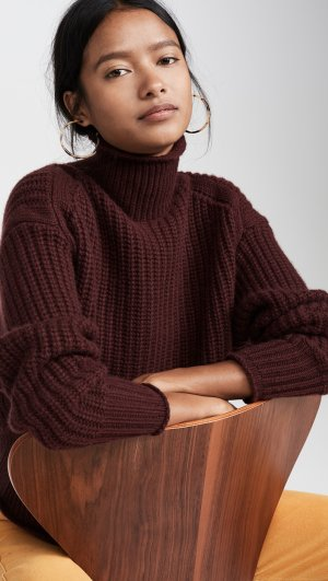 Chunky Shaker Cashmere Sweater Autumn