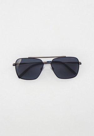 Очки солнцезащитные Invu Flexible. Цвет: серый