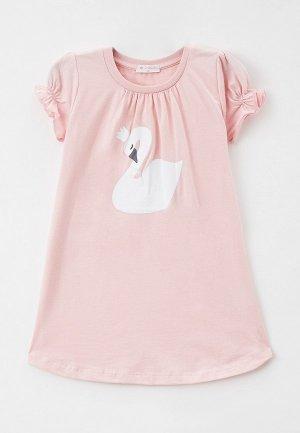 Сорочка ночная Diva Kids. Цвет: розовый