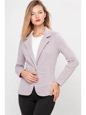 Пиджак Limonti. Цвет: серый, розовый
