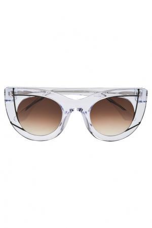 Солнцезащитные очки Wavvvy Thierry Lasry. Цвет: прозрачный