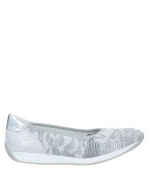 Кеды и кроссовки ARA. Цвет: светло-серый