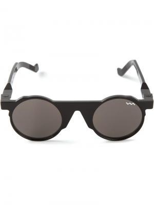 Солнцезащитные очки в круглой оправе BL002 Vava. Цвет: чёрный