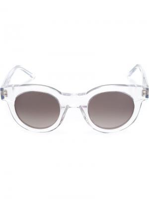 Солнцезащитные очки Type 02 Sun Buddies. Цвет: белый