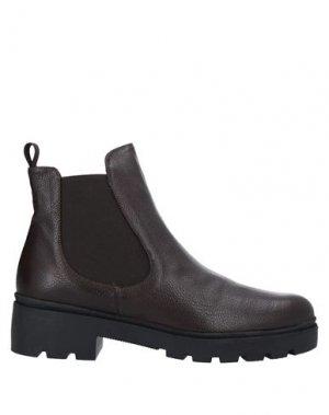 Полусапоги и высокие ботинки CRISTIAN DANIEL. Цвет: темно-коричневый