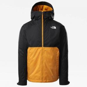 Куртка утепленная мужская Millerton, размер 52 The North Face. Цвет: желтый