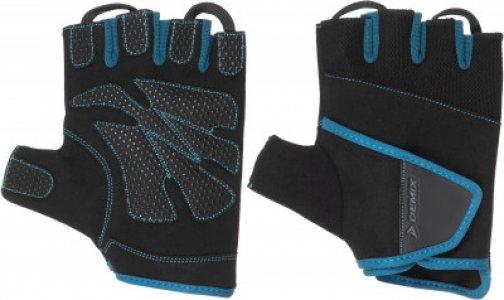 Перчатки для фитнеса , размер L Demix. Цвет: синий