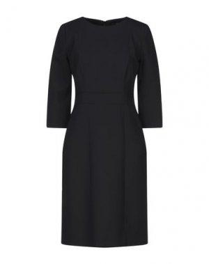 Короткое платье BRIAN DALES. Цвет: черный