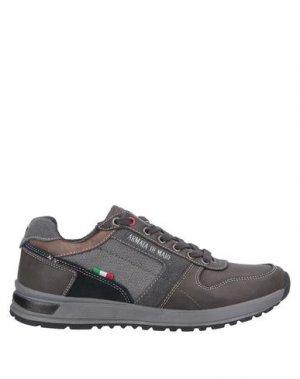 Низкие кеды и кроссовки ARMATA DI MARE. Цвет: серый