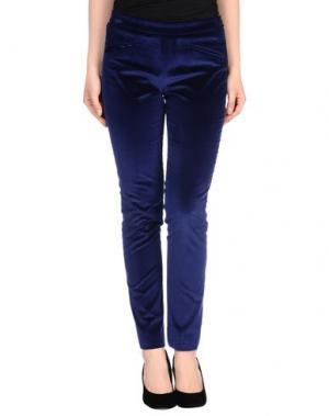 Повседневные брюки PT Torino. Цвет: синий