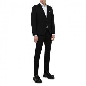 Хлопковый костюм Neil Barrett. Цвет: чёрный