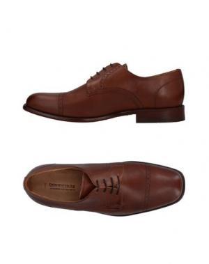 Обувь на шнурках BOOMERANG. Цвет: коричневый