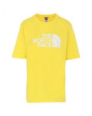 Футболка THE NORTH FACE. Цвет: желтый