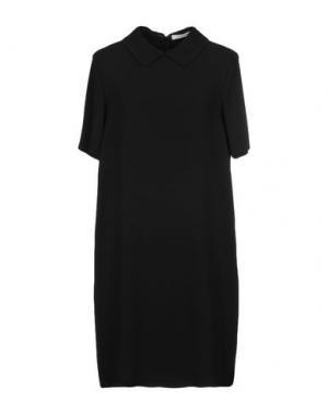 Короткое платье GIO' MORETTI. Цвет: черный