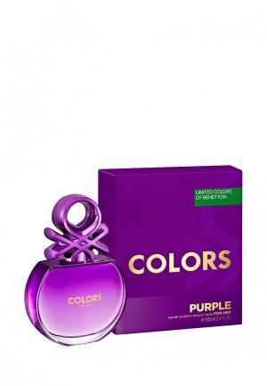 Туалетная вода United Colors of Benetton Purple, 80 мл