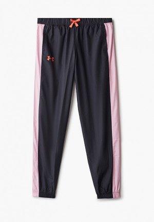 Брюки спортивные Under Armour Lined Woven Pants. Цвет: черный