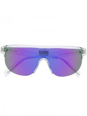 Солнцезащитные очки Billionaire Boys Club 002 Italia Independent. Цвет: черный