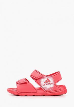 Сандалии adidas ALTASWIM C. Цвет: розовый