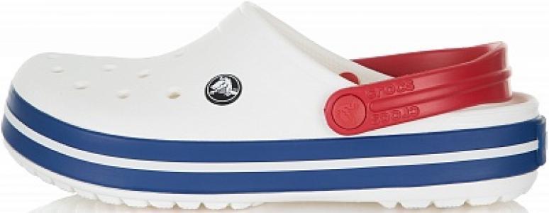 Шлепанцы Crocband, размер 40-41 Crocs. Цвет: белый
