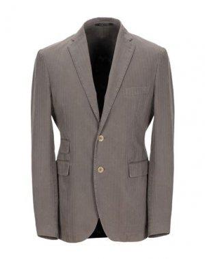 Пиджак PINO LERARIO 02-05. Цвет: голубиный серый