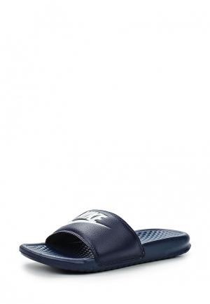 Сланцы Nike Mens Benassi Just Do It. Sandal. Цвет: синий