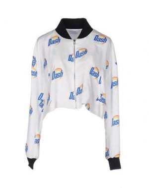Куртка AU JOUR LE. Цвет: белый