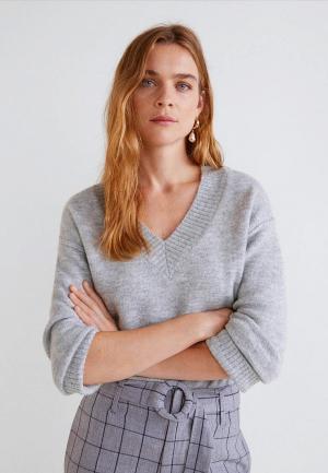 Пуловер Mango - KAS. Цвет: серый