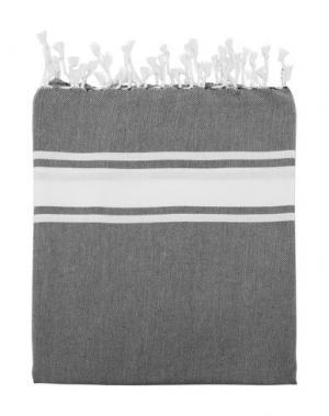 Пляжное полотенце ESPADRIJ. Цвет: черный