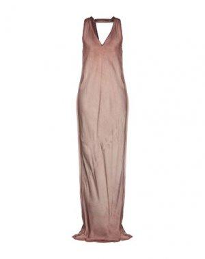 Длинное платье ROQUE ILARIA NISTRI. Цвет: телесный