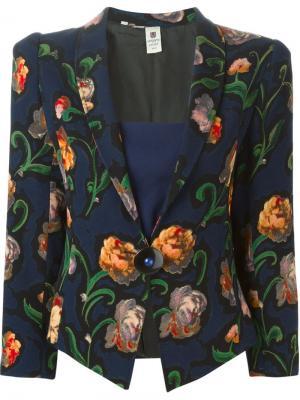 Куртки Emanuel Ungaro Vintage. Цвет: синий