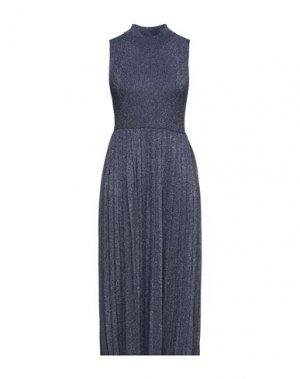 Платье миди CARVEN. Цвет: синий