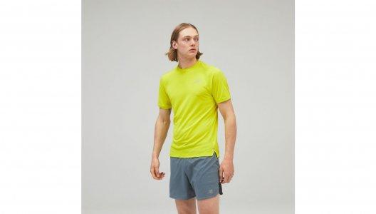 Футболки Impact Run Short Sleeve New Balance. Цвет: желтый