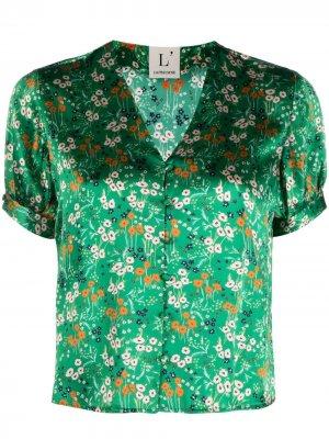LAutre Chose блузка с цветочным узором L'Autre. Цвет: зеленый