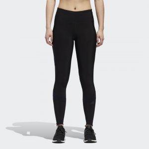 Леггинсы для бега How We Do Climaheat Performance adidas. Цвет: черный