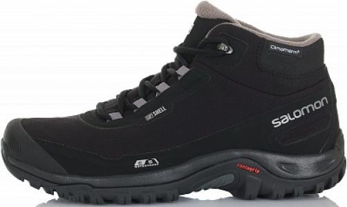 Ботинки утепленные мужские Shelter, размер 39.5 Salomon. Цвет: черный