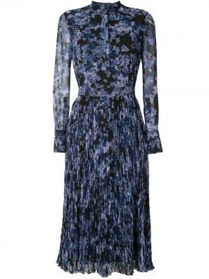 Платье миди Emilia Altuzarra. Цвет: коричневый