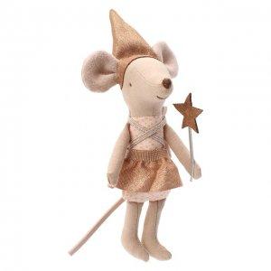 Игрушка Зубная фея со шкатулкой Maileg. Цвет: бежевый