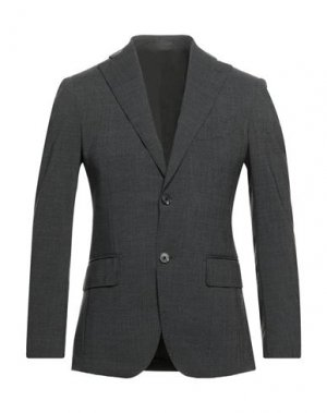 Пиджак GABRIELE PASINI. Цвет: свинцово-серый