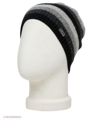 Шапка ELFE. Цвет: черный, светло-серый, серый, темно-серый