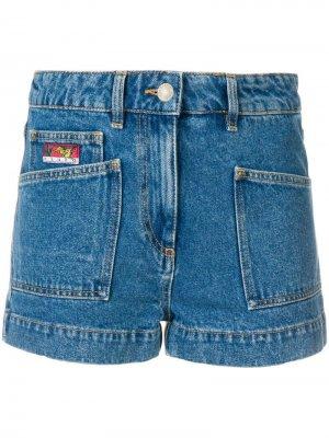 Джинсовые шорты Kenzo. Цвет: синий